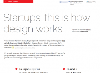 Startups, This Is How Design Works