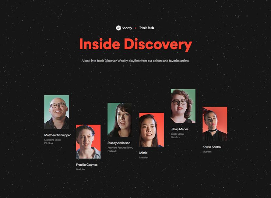 Spotify x Pitchfork – Inside Discovery