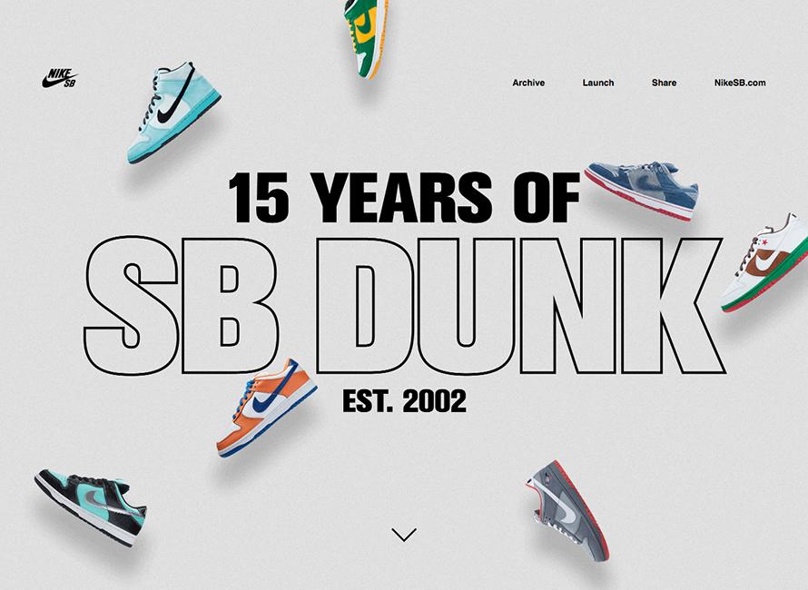 Nike – 15 Years of SB Dunk