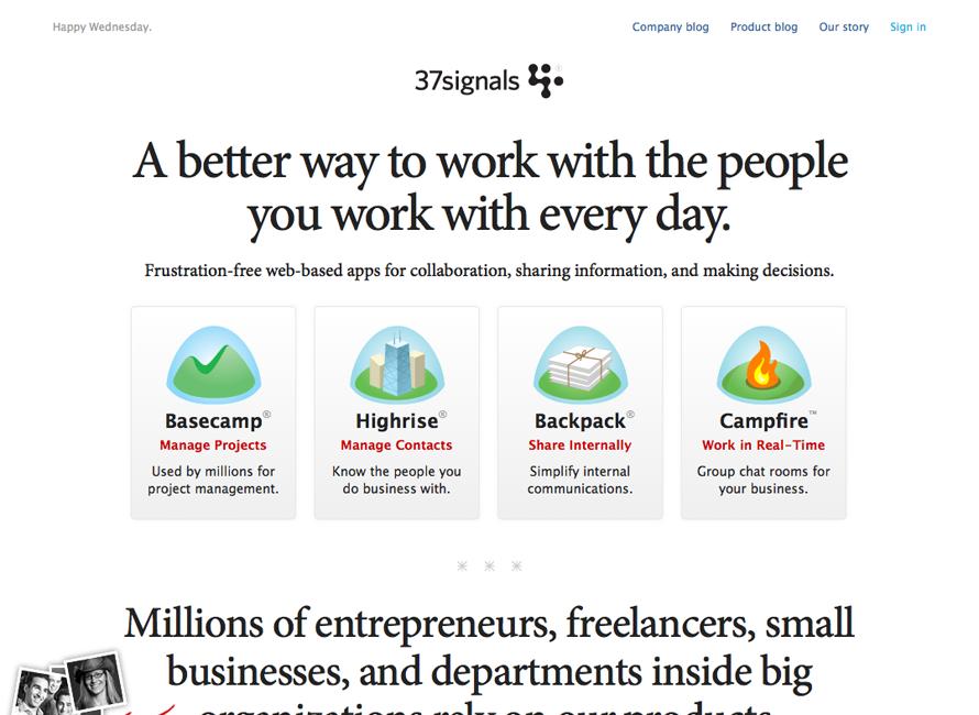 37signals | I/O 3000 | Webデザ...
