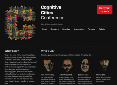 Cognitive Cities Conference