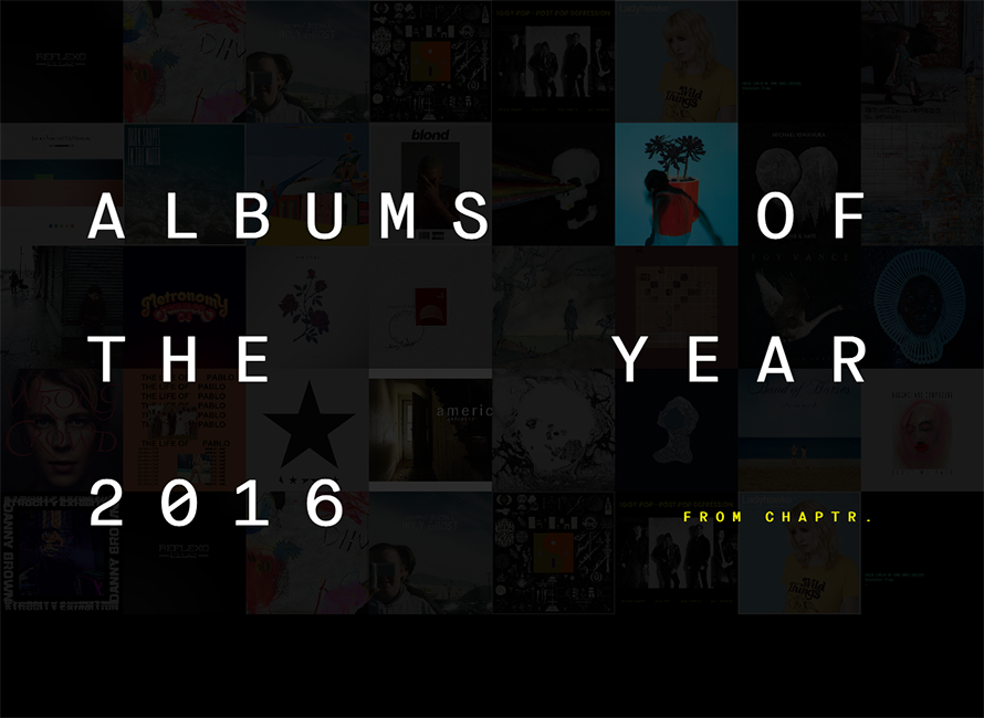 Chaptr Albums of the Year 2016