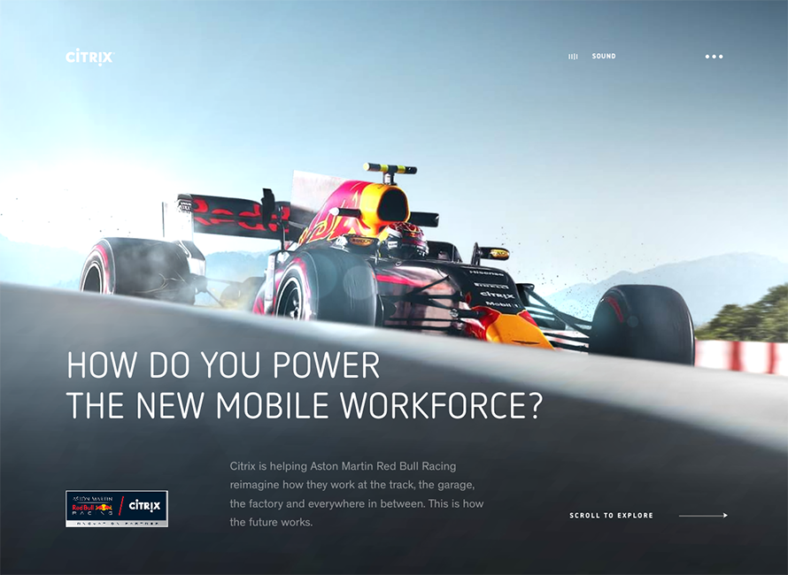 Red Bull Racing + Citrix