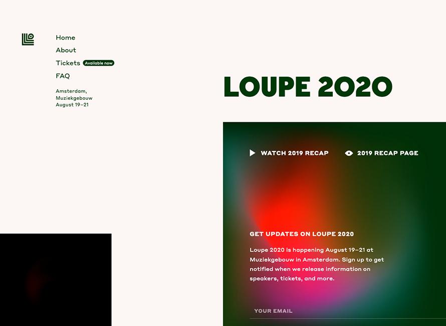 LOUPE 2020